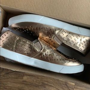 Rose Gold shoes - size 9.5